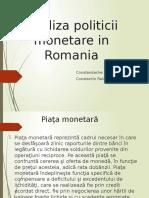 Analiza politicii monetare in Romania.pptx