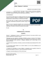 Decreto Nº 461