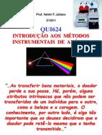3 ANALISE QUÍMICA INSTRUMENTAL Introdução Aos Metodos Instrumentais de Analise I