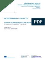 EASA-COVID-19_Interim Guidance on Management of Crew Members Final