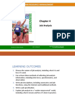 chapter 4 job analysis