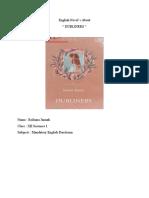 Engliah Novel Dubliners.docx
