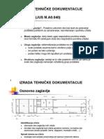 Masfak Izrada Tehnicke Dokumentacije