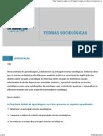 Teorias Sociológicas aula 02