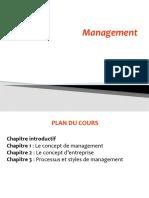 Cours management Pr. Slamti S2