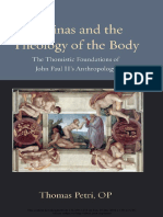 (Thomistic Ressourcement Series) Thomas Petri - Aquinas and the Theology of the Body_ The Thomistic Foundations of John Paul II's Anthropology-Catholic University of America Press (2016).pdf