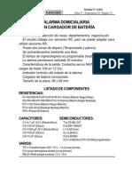 ALARMA DOMICILIARIA CON CARGADOR DE BATERÍA (Ex 159). Incluye CURSO MULTIMEDIA APRENDA ELECTRONICA ARMANDO ALARMAS DOMICILIARIAS4-062