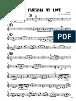 my love - Violin II