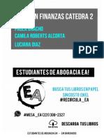 Resumen Finanzas. Catedra II - Bracho, Roberts, Diaz.pdf