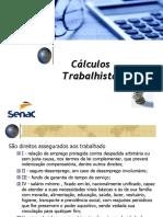 Cálculo-Trabalhista OUTUBRO 2019
