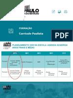 Formação - Curricilo Paulista