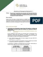 Resumen de Medidas Galvez y Dolorie Perú
