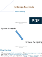 System Design Methods flow charting
