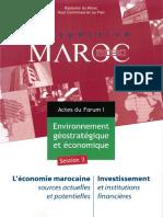 Prospective Maroc 2030 - Sources Actuelles Et Potentielles de l'Économie Marocaine