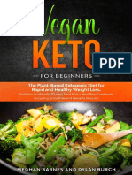 Vegan Keto for Beginners by Meghan Barnes