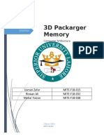 3D Packaged Memory