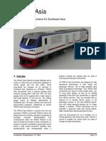 TRAXX Asia Data Sheet, Draft R05
