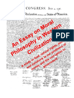 Essay on Moral Philosophy