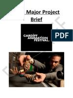 final major project brief
