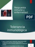 """Equipo 7 """"Respuesta Inmune y Enfermedad"""""""
