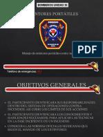 EXTINTORES PORTÁTILES u36