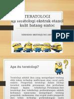 ppt teratologi