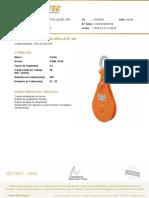 Certificado de Calidad FV 74890 G.D 82185 Ferreterias Lessel