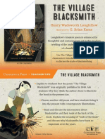 The Village Blacksmith Teacher Tip Card