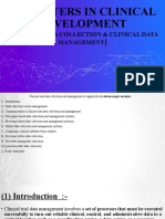 clinical data collection clinical data management