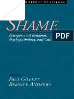 (Series in Affective Science) Paul Gilbert, Bernice Andrews - Shame_ Interpersonal Behavior, Psychopathology, and Culture -Oxford University Press, USA (1998)