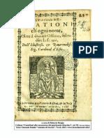 Deuotissime Orationi Sig Cardinal d Este 1588