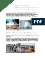 ENERGIA GEOTERMICA DEL SUELO COMO RECURSO NATURAL RENOVABLE