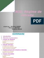 CNSS Régime de Retraite