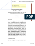Physiognomy and Freakery. The joker on film.pdf