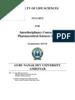 ID PHARAMCEUTICALS  PG 2019-20