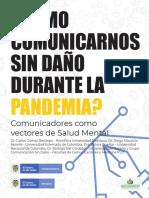 ¿Cómo comunicarnos sin daño durante la pandemia por COVID-19? Guía para comunicadores y periodistas