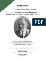 Zinner - Marius 1942