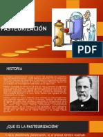 2. Pasteurización