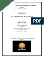 6.4 civil procedure final project pranoy goswami sm0117037