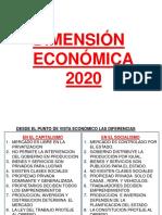 5 DIMENSION ECONOMICA