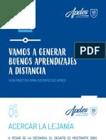 Clases a Distancia  - APDES