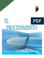 EL PROCEDIMIENTO ORDINARIO