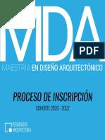 Maestria en Diseño Arquitectónico Universidad Central del Ecuador