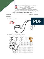 pre-escritura y pre-matematica
