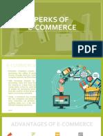 Perks of E-Commerce