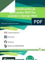 AT9-REST usando Django Framework