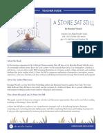 A Stone Sat Still Teacher Guide
