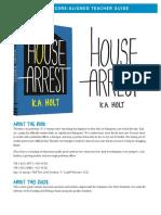 House Arrest Teacher Guide