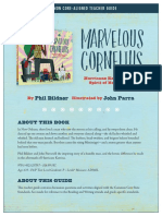 Marvelous Cornelious Teacher Guide