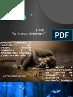la nueva didactica 1990